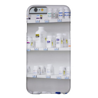 bottles on the shelves at a pharmacy barely there iPhone 6 case