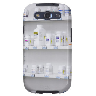 bottles on the shelves at a pharmacy samsung galaxy s3 cases