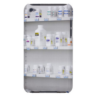 bottles on the shelves at a pharmacy barely there iPod case