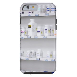 bottles on the shelves at a pharmacy tough iPhone 6 case