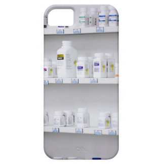 bottles on the shelves at a pharmacy iPhone 5 cases