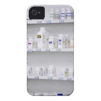 bottles on the shelves at a pharmacy Case-Mate iPhone 4 cases