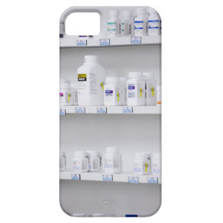 bottles on the shelves at a pharmacy iPhone SE/5/5s case