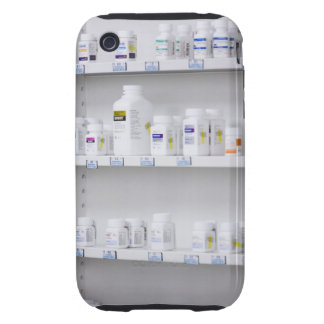 bottles on the shelves at a pharmacy tough iPhone 3 cases