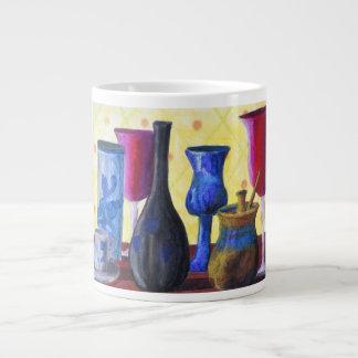Bottlescape I - Cubilete rojo de rubíes pote de o Taza Extra Grande