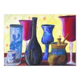 Bottlescape I - Ruby Red Goblet, Golden Honey Pot Announcement