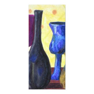 Bottlescape I - Ruby Red Goblet, Golden Honey Pot Announcements