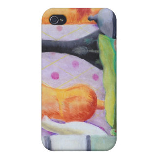 Bottlescape II - Abstract Alice Tea Party Case For iPhone 4