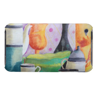 Bottlescape II - Abstract Alice Tea Party iPod Touch Case