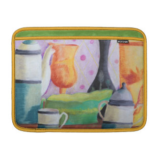 Bottlescape II - Abstract Alice Tea Party MacBook Sleeve