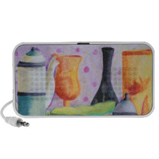 Bottlescape II - Abstract Alice Tea Party Mini Speaker