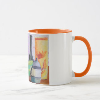 Bottlescape II - Abstract Alice Tea Party Mug