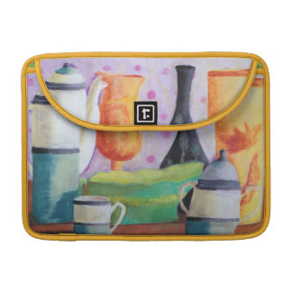 Bottlescape II - Abstract Alice Tea Party Sleeve For MacBook Pro