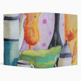 """Bottlescape II - Fiesta del té abstracta de Alicia Carpeta 1"""""""