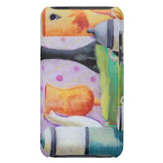Bottlescape II - Fiesta del té abstracta de Alicia iPod Touch Case-Mate Cárcasa