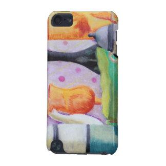 Bottlescape II - Fiesta del té abstracta de Alicia Funda Para iPod Touch 5G