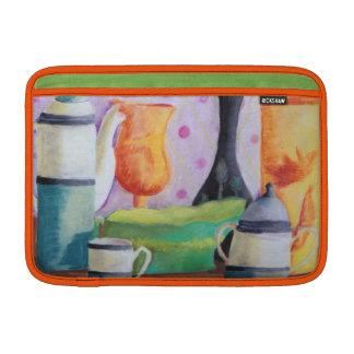 Bottlescape II - Fiesta del té abstracta de Alicia Fundas Macbook Air