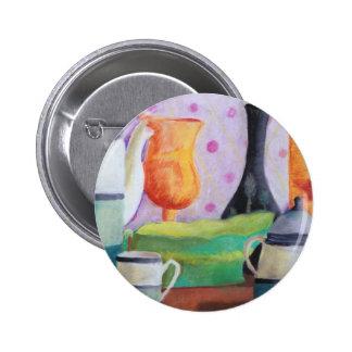 Bottlescape II - Fiesta del té abstracta de Alicia Pin Redondo 5 Cm