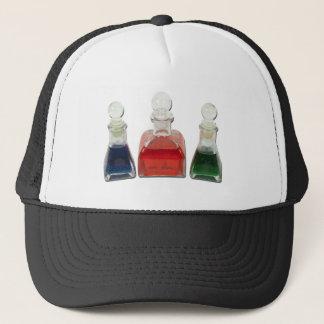 BottlesColorfulLiquid010212 Trucker Hat