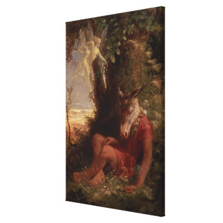 Bottom Asleep, 1891 Canvas Print