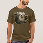 Bottom Bear Bare Gay Pride LGBT Circuit Party Wear T-Shirt