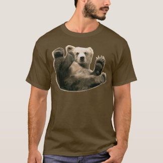 Bottom Bear Bare Gay Pride LGBT Circuit Party Wear T-Shirt
