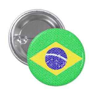 Bottom Brasil Pin Redondo De 1 Pulgada