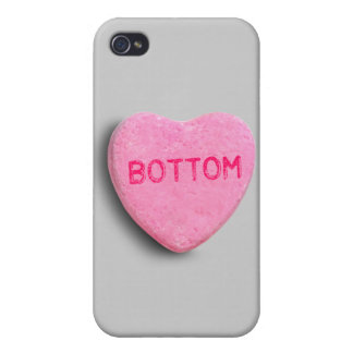 Bottom Candy Heart Case For iPhone 4