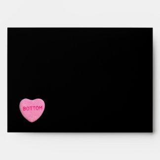 Bottom Candy Heart Envelope