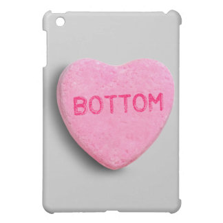 Bottom Candy Heart iPad Mini Covers