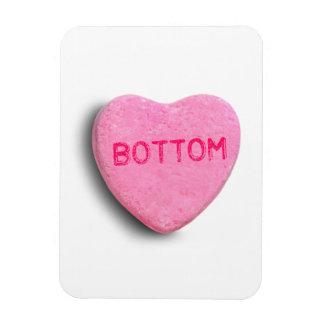 Bottom Candy Heart Magnet