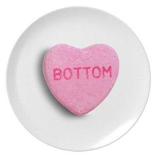 Bottom Candy Heart Plates