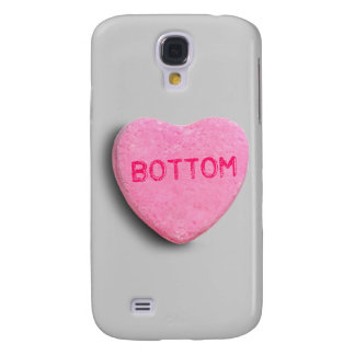 Bottom Candy Heart Samsung Galaxy S4 Cases