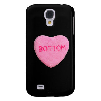 Bottom Candy Heart Samsung Galaxy S4 Cover