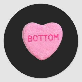 Bottom Candy Heart Sticker