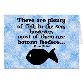 Bottom Feeders Card