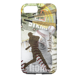 Bottom of the 9th Baseball Batter iPhone 7 Case