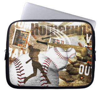 Bottom of the 9th laptop computer sleeves