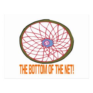 Bottom Of The Net Postcard