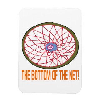 Bottom Of The Net Rectangular Photo Magnet