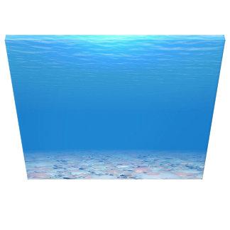 Bottom of The Sea Canvas Print