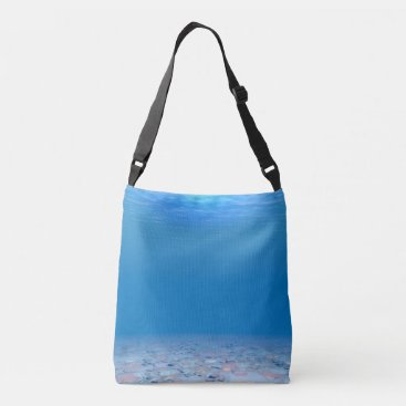 Ocean Themed Bottom of The Sea Tote Bag