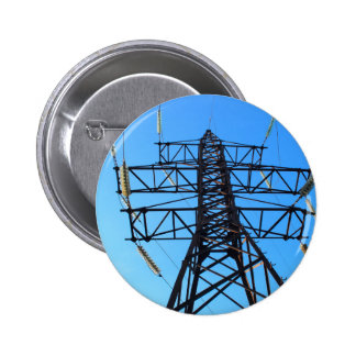 Bottom view of the high-voltage metal tower button