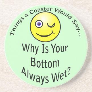 Bottom Wet Light Coaster