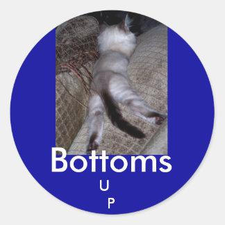 Bottoms , U   P kitty sticker