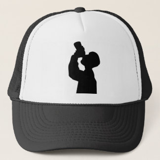 bottoms up - beer boozer trucker hat