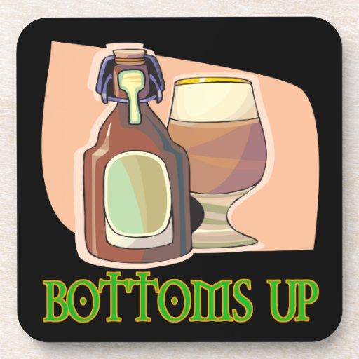 Bottoms Up Beverage Coasters