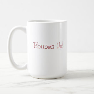 Bottoms Up Coffee Mug