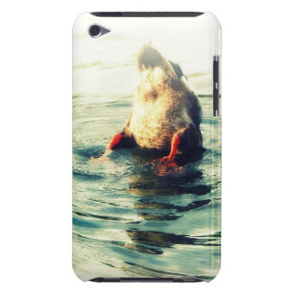 Bottoms UP! Funny Duck Butt Photo Barely There iPod Cover