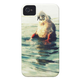 Bottoms UP! Funny Duck Butt Photo Case-Mate iPhone 4 Case